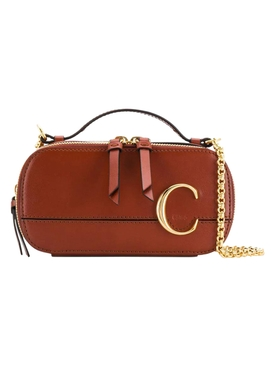 C cross-body bag brown