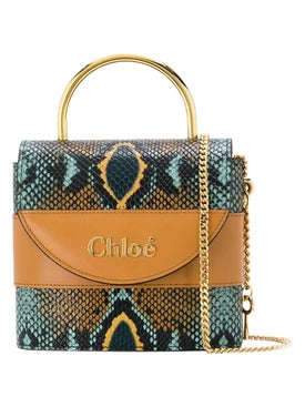 Chloé - Aby Snake Embossed Lock Bag - Women