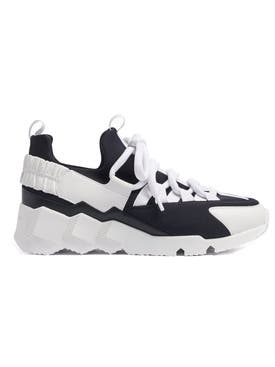 Pierre Hardy - Trek Comet Sneakers Black & White - Women