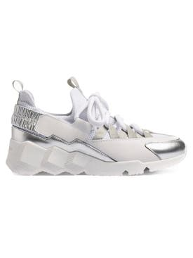 Pierre Hardy - Trek Comet Sneakers White-silver - Women