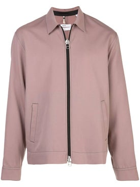 Oamc - Wool Zip-up Shirt Jacket Pink - Men