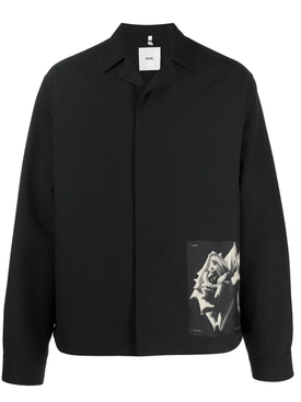 Oamc - Oversized S-34 Shirt Jacket Black - Men