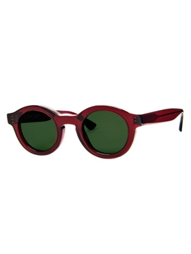 Burgundy and Green Olympy sunglasses