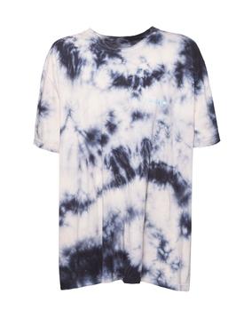 Tie-Dye Crewneck T-shirt BEIGE