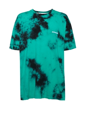 Off-white - Tie-dye Crewneck T-shirt Mint - Men