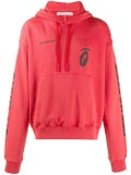 Off-white - Splitted Arrows Over Hoodie Red Black - Men