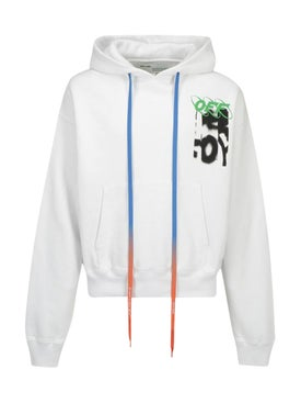 Off-white - Spray Paint Logo Hoodie - Men