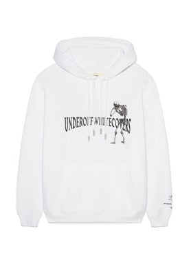 Off-white - Off-white X Undercover Skeleton And Apple Reversable Hoodie White - Men