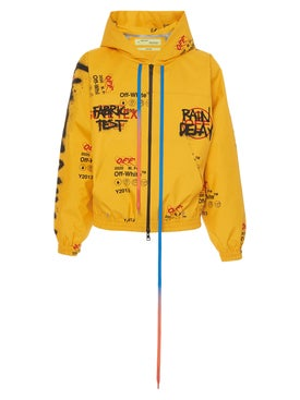 Off-white - Off-white X Gore-tex Hoodie Yellow - Men
