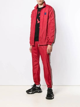 Off-white - Logo Trim Track Trousers - Pants