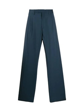 Off-white - Blue Wool Pants - Men