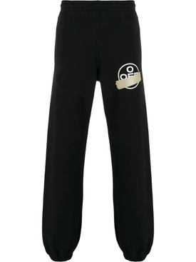 TAPE ARROWS SLIM SWEATPANT BLACK