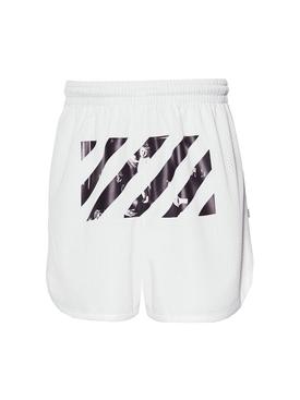 Caravaggio Mesh Shorts white