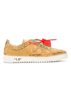 Off-white - 2.0 Security Tag Sneakers Mustard - Men