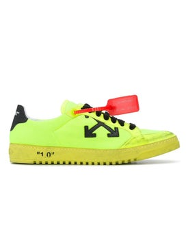 Off-white - 2.0 Security Tag Sneakers Fluorescent Yellow - Men