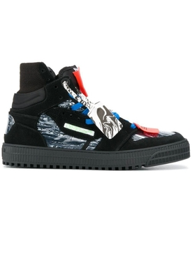 Off court high-top sneakers BLACK