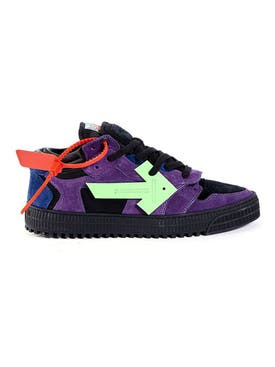 Off-white - Low Off-court Sneaker Violet Green - Men