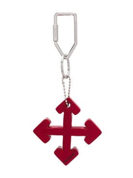 Off-white - Arrows Key Ring Red - Men