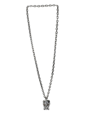 Silver-tone Punk necklace