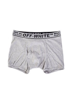 Off-white - Grey Tri-pack Boxer Set - Men