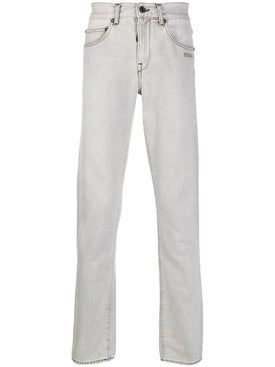 Off-white - Light Grey Slim-fit Jeans - Men