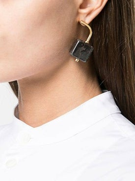 Marni - Marble Block Earrings - Earrings