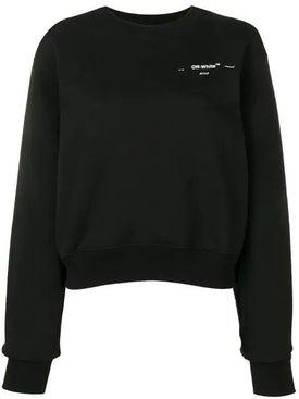 Off-white - Logo Chest Sweatshirt - Women