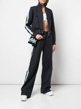 zip-up cropped jacket