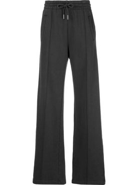 Off-white - Flared Drawstring Track Pants Black - Women