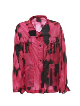 Off-white - Tiger Dye Track Jacket - Women