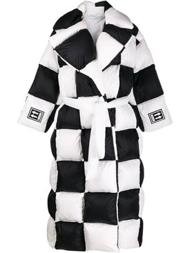 Off-white - 3d Large Checkered Puffer - Women