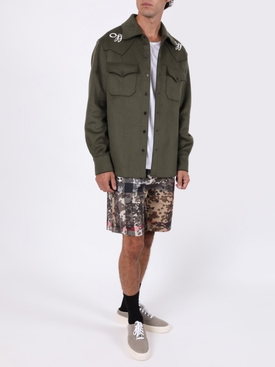 Military boxy jacket