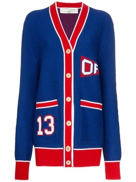 Off-white - College Flag Cardigan - Women