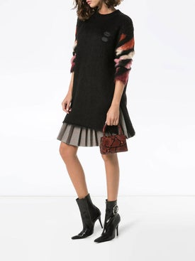Off-white - Ombré Arrow-print Knitted Dress - Women