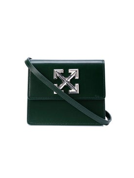 Off-white - Jitney 0.7 Shoulder Bag Dark Green - Women