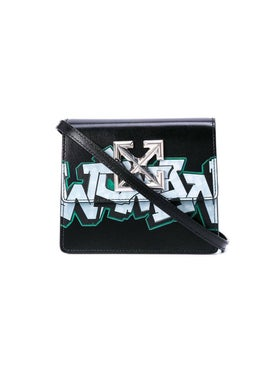 Off-white - Graffiti Print 0.7 Jitsey Bag - Women