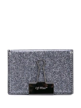 Off-white - Glitter Card Holder - Women