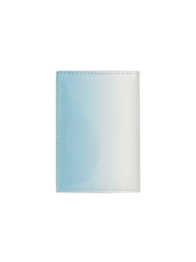 Off-white - Blue Gradient Paperclip Card Holder - Women