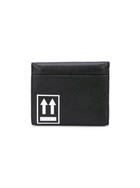 Off-white - Arrows-print Small Wallet - Women