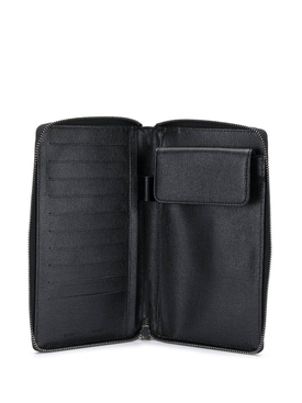 logo zipped wallet