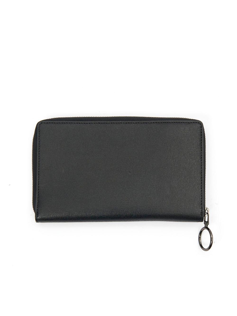 Women/'s Leather Tie Dye Print Clutch Zip Around Wallet Credit Card Holder