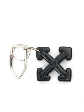 cross arrow keyring BLACK
