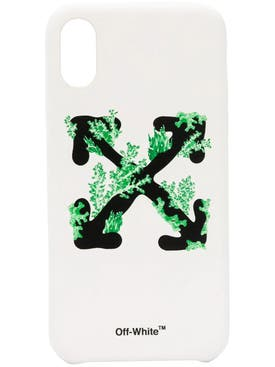 Off-white - White Coral Cross Arrow Iphone Xs Case - Women