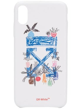 Off-white - Logo Print Iphone Xs Max Case - Tech