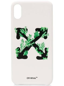 Off-white - Coral Arrows Iphone Xs Max Case White - Women