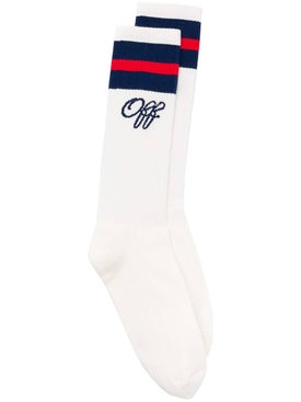Off-white - Logo Embroidered Socks - Women