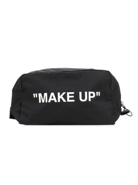 "Off-white - ""make Up"" Print Toiletry Bag - Women"