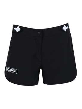 Black Athleisure shorts