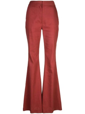 Adam Lippes - High Waist Flare Trousers - Women