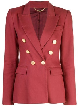 Adam Lippes - Textured Double Breasted Blazer - Women